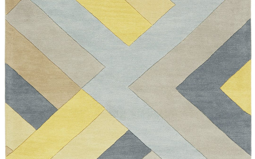 REEF MOTIF BIG ZIG OCHRE GREY